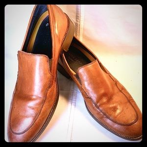 (11) Cole Haan Leather Loafers